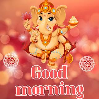 good morning cute ganesh ji hd photo download