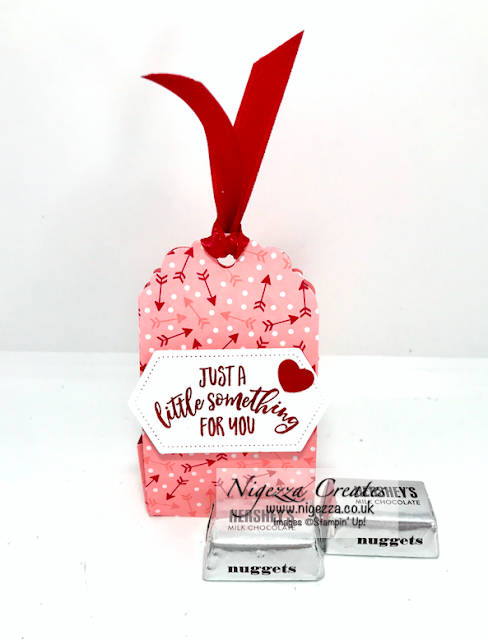 Nigezza Creates with Stampin' Up! Tag Topper Treat Holder
