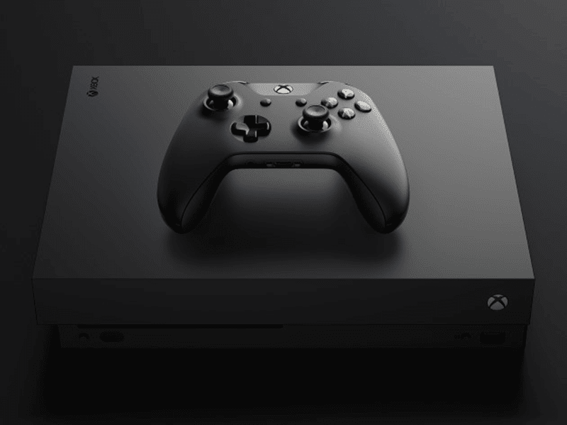 Microsoft Xbox One X Unveiled!