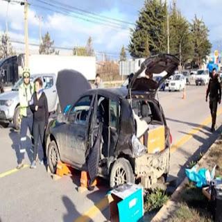Deportistas fueguinas accidentadas en Chile