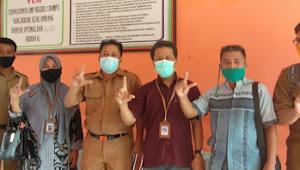 SMPN 2 Dompu Dapat Kunjungan Team Penilai Lomba Wajah Bahasa Sekolah Tingkat Propinsi