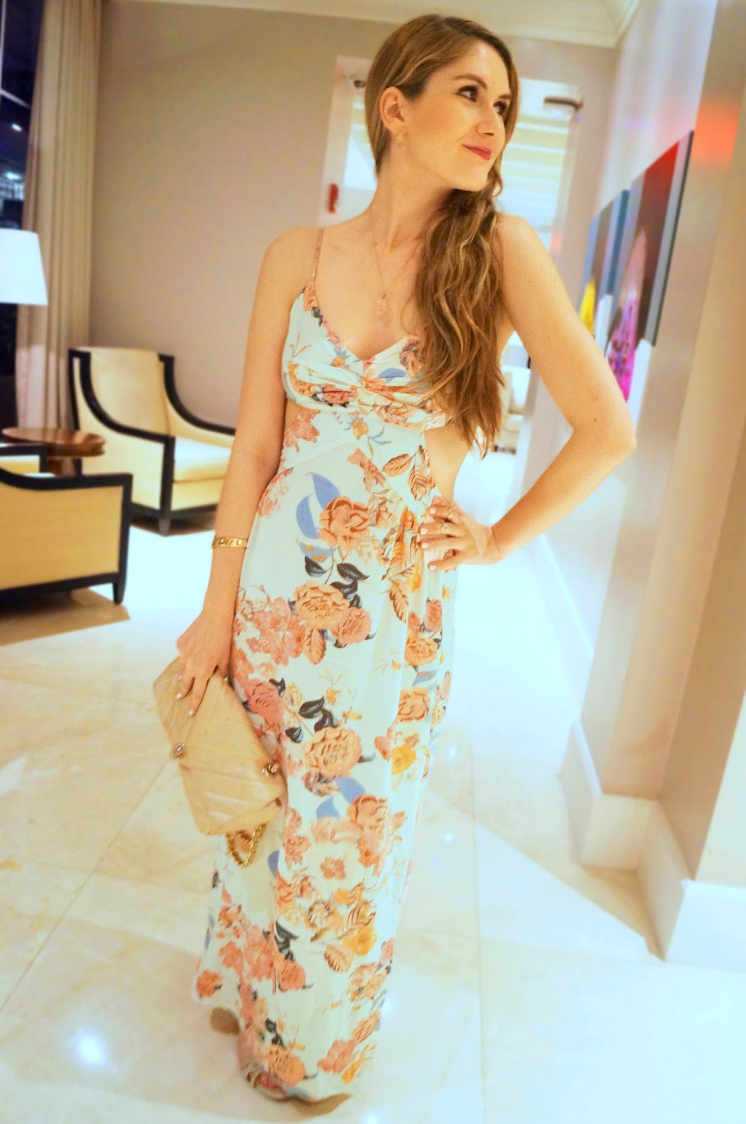Pretty Maxi dress from Forever21