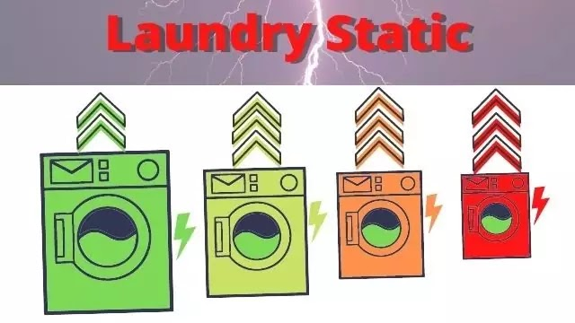 Dryer Sheets help remove Static Electricity in Laundry!