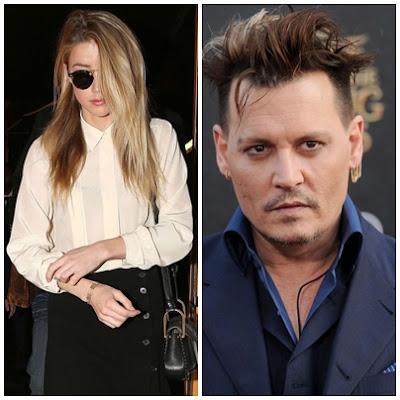 Amber Heard and Johnny depp fight