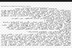 Teks Pidato Bahasa Arab Singkat Tentang Menuntut Ilmu