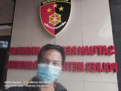 LSM BMI Menindaklanjuti Laporan Intake Lippo ke Polres Metro Tangerang Kota