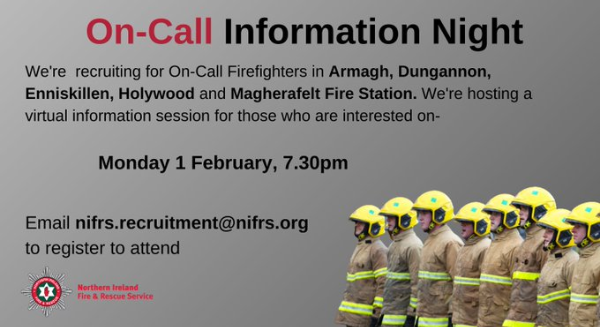 Northern Ireland fire & rescue service is recruiting