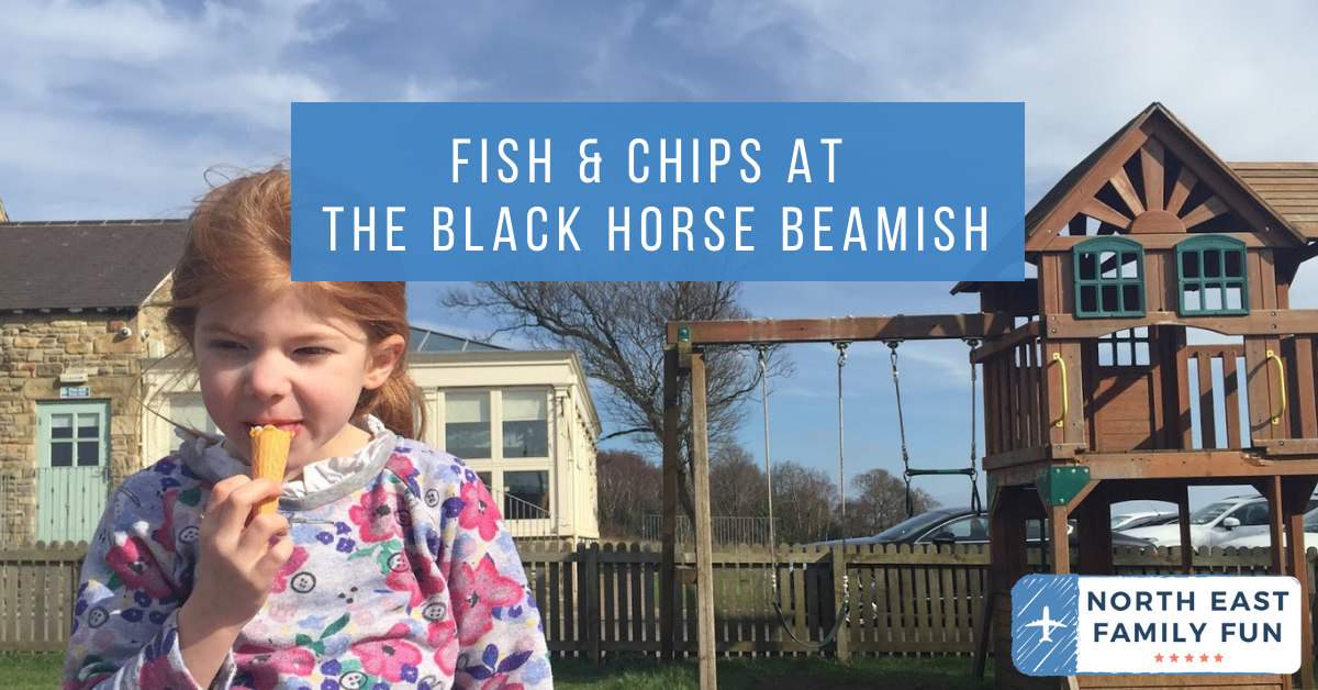 Fish & Chips at The Black Horse Beamish