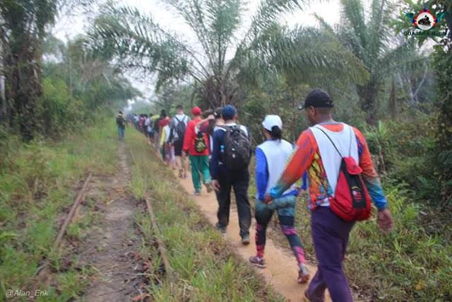 Realizado em Guajará-Mirim o 4° Trekking na E.F.M.M.