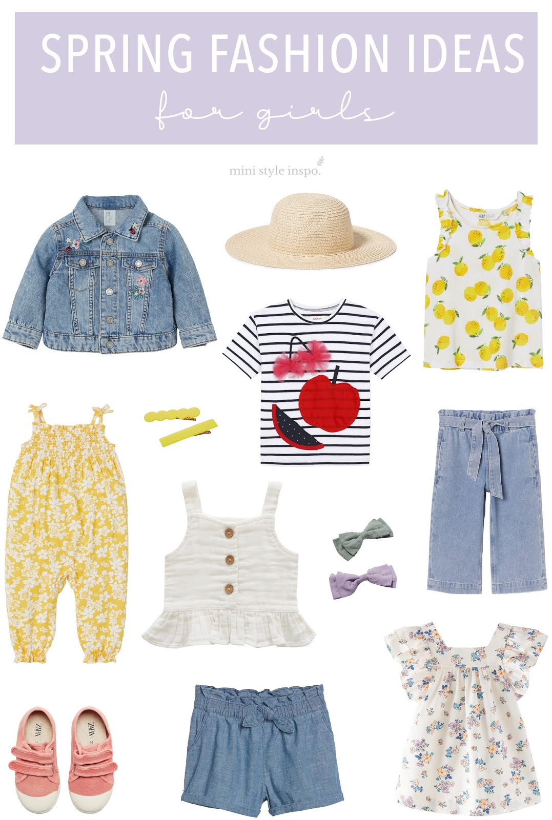 Fashionable Spring Outfits For Girls Little Style Inspo