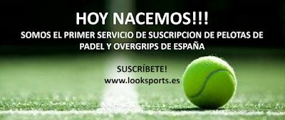 LookSports: el primer servicio de suscripción de pelotas de pádel y overgrips de España.