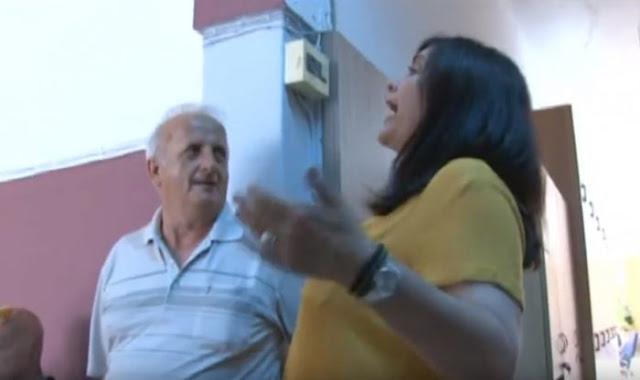 Νέος καυγάς με τη Νικολάκου: «Φέρε μου την απόφαση, αγόρι μου, μην σου δώσω και πέσεις κάτω από τις σκάλες» (βίντεο)