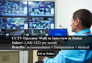 Requirement CCTV Operator Jobs Vacancy in Drive Rent a Car Location Dubai