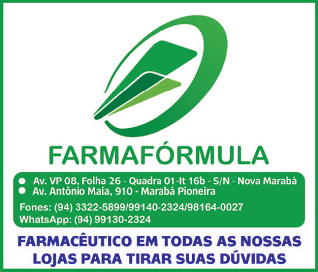 FARMAFÓRMULA -- EM MARABÁ -- VEJA AS FOTOS..