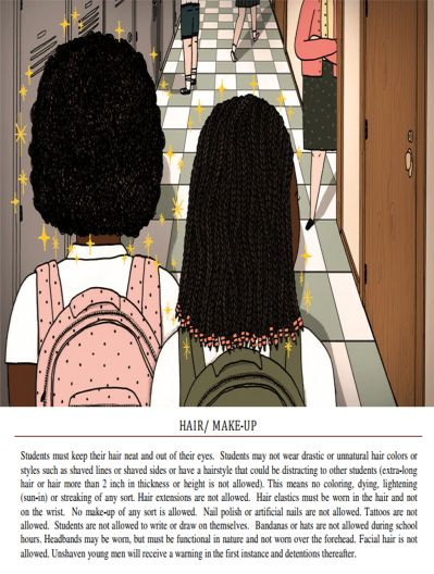 When Black Hair Violates Dress Code >> Big Education Ape Charter Schools When Black Hair Violates The