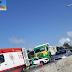 Acidente na rodovia BR-101 Sul próximo ao Natal Shopping