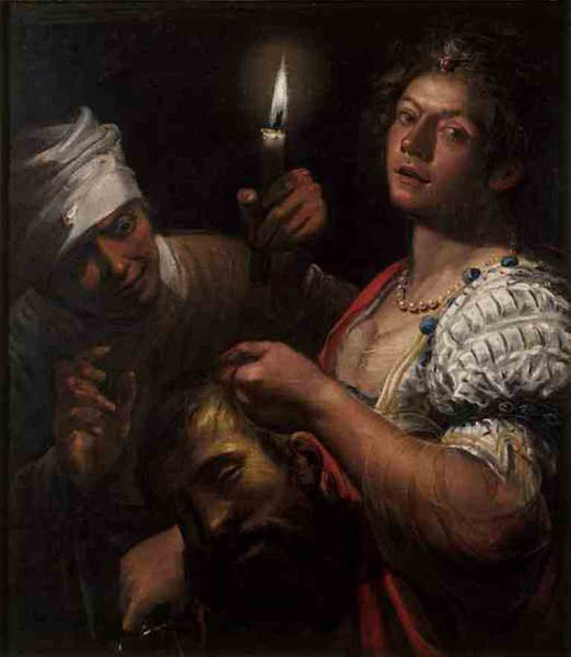Judith Holding the Head of Holofernes by Matteo Ponzoni, Macabre Art, Macabre Paintings, Horror Paintings, Freak Art, Freak Paintings, Horror Picture, Terror Pictures
