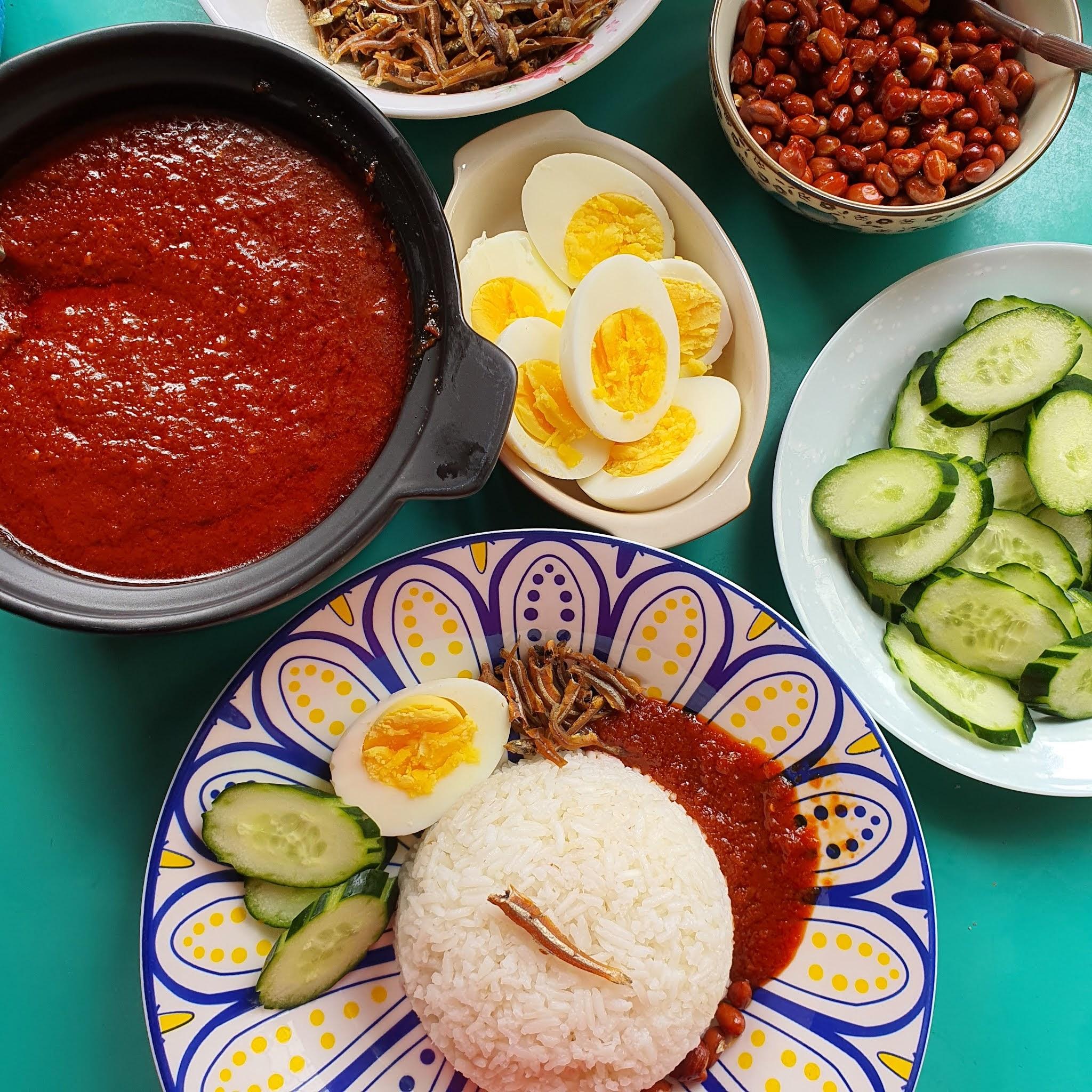 easy nasi lemak recipe, nasi lemak recipe, resipi mudah nasi lemak, resipi senang masak nasi lemak, resipi nasi lemak berniaga, business nasi lemak,