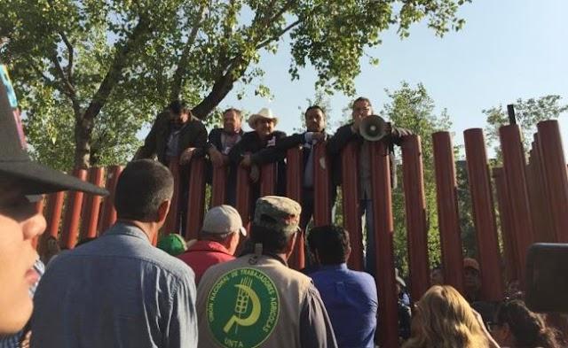 Campesinos del FAC reculan por Zapata ¡