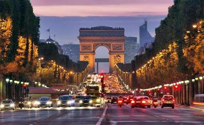 Tempat Wisata Arc de Trimphe di Paris