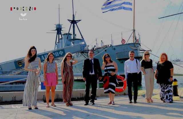 Εξαιρετική εκδήλωση από Ναυπλιώτες ηθοποιούς στο Θωρηκτό Αβέρωφ