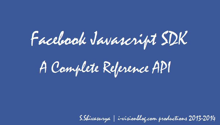 Facebook API Javascript SDK - A Complete Reference for Websites