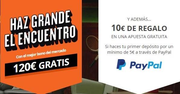 Consigue 10 euros gratis para apostar con luckia y paypal promociones supercuotas y bonos - Luckia casa de apuestas ...