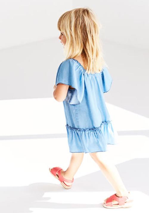 Tendencias en vestidos para nenas de moda primavera verano 2018.