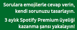 3 Aylık Spotify Üyeliği Kazan