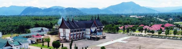 Gedung kantor bupati Kabupaten Pasaman Barat 2020