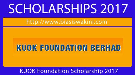 KUOK Foundation-Undergraduate Scholarship 2017