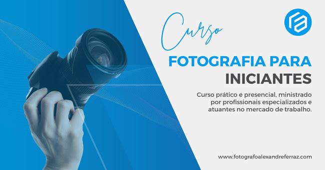 Curso de fotografia para iniciantes