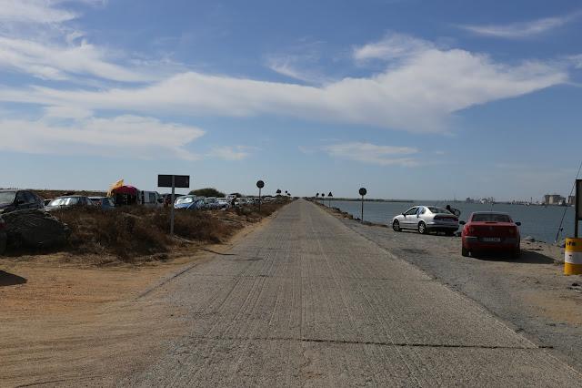 Carretera del Espigón de Huelva