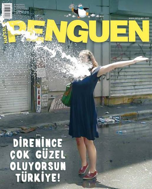 Penguen Dergisi | 6 Haziran 2013 Kapak Karikatürü