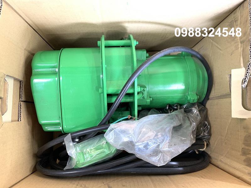 pa lăng điện xích Futaba Speed MH-1S 1 tấn