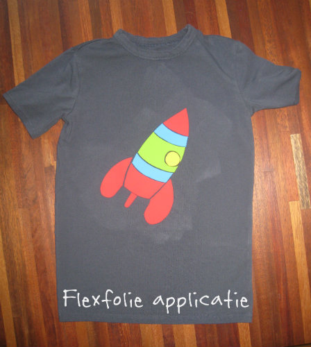 Flexfolie applicatie