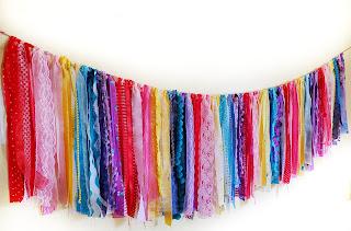 refabulous custom handmade boho garland, banner