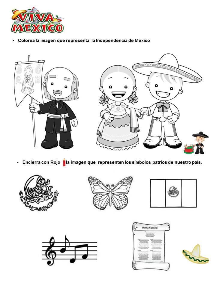 Dibujos Para Colorear Para El Mes De Septiembre Alexduve