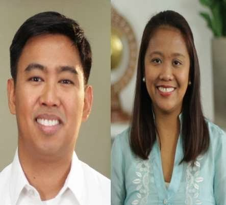 Junjun and Nancy Binay