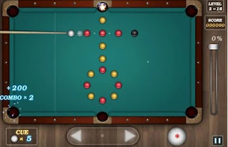 Game-billiard