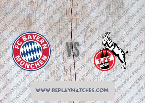 Bayern Munich vs FC Cologne -Highlights 22 August 2021