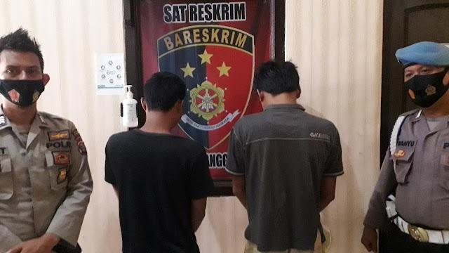 Dua Tersangka Pengeroyokan di Bandar Negeri Semoung Ditangkap Tekab 308 Polres Tangamus