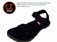 Pabrik Produksi Sandal Gunung CEKA Production Siap Melayani Pemesanan Merk Sendiri