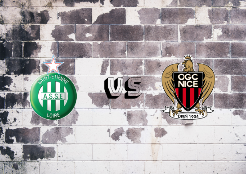 Saint-Étienne vs Niza  Resumen