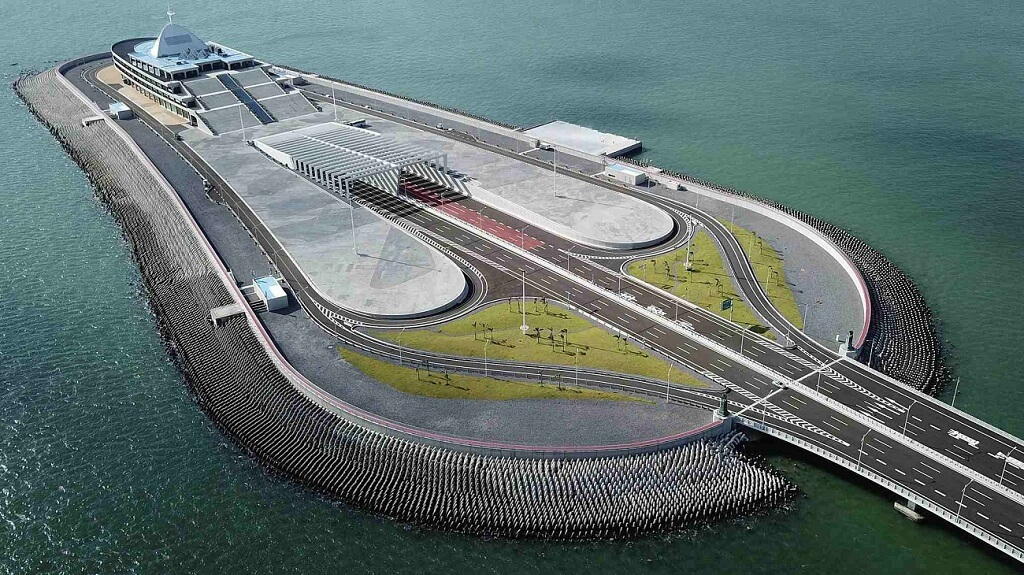 Jambatan Hong Kong-Zhuhai-Macau Island