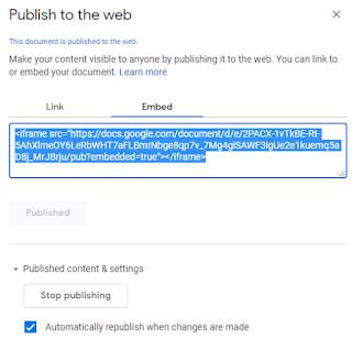 resize google doc embed iframe code