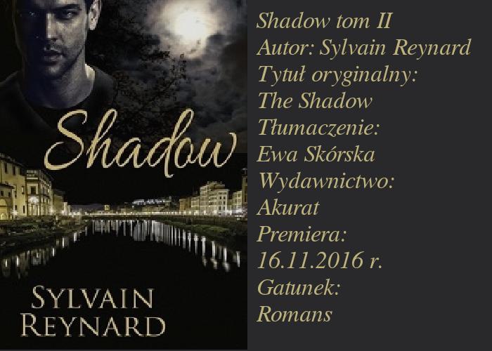 """Piękna, malownicza Florencja i Książę. """"Shadow Sylvain Reynard""""."""