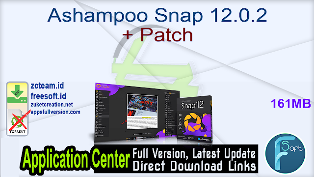 Ashampoo Snap 12.0.2 + Patch