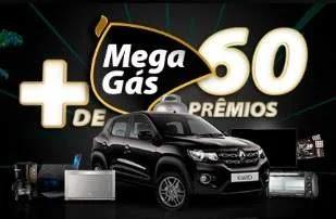 Promoção Mega Gás Mais de 60 Prêmios Carro 0KM e Muito Mais
