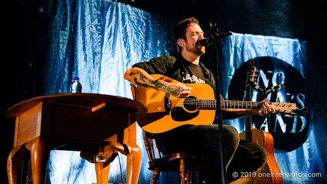 Frank Turner at The Queen Elizabeth Theatre on October 10, 2019 Photo by John Ordean at One In Ten Words oneintenwords.com toronto indie alternative live music blog concert photography pictures photos nikon d750 camera yyz photographer